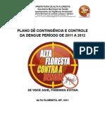 PLANO DE CONTINGÊNCIA DA DENGUE ALTA FLORESTA