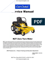 Cub Cadet RZT Series Zero Turn Service Repair Manual[1]