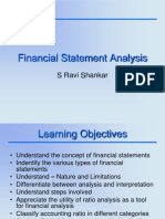 Financial Statement Analysis Intro