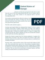 United States of Europe-Fund Advisers