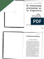 Abad De Santillán, Diego - El Movimiento Anarquista En La Argentina [1930]