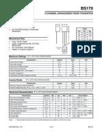 Bs170 Datasheet