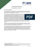 Naehrwertprofile Als Voraussetzung Fuer Health Claims Positions Pa Pier