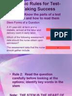 Test Taking Strategies 2