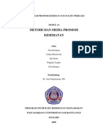 Metode Dan Media Promosi Kesehatan