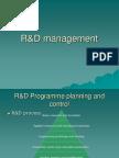 R&D Management