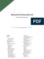 Manual PCI Geomatica10