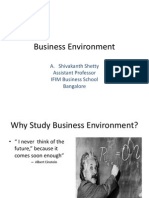 Business Environment- Chapter I