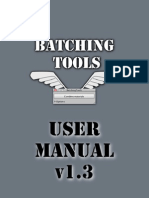 Batching Tools User Manual