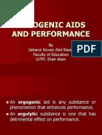 Chap 10-Ergogenic Aids and Performance