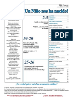 Semanario Catolico Alfa y Omega. nº 765. 22 Diciembre 2011