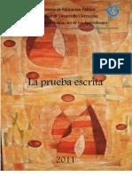 La Prueba Escrita 2011