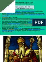 Santo Agostinho e Tomás de Aquino