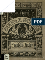 Double Scales - Systematically Fingered. a Supplement to All Existing Pianoforte School (Franklin Taylor)