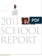 2011 School Report for the Archdiocese of Philadelphia