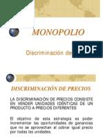 Monopolio y Discriminacion de Precios