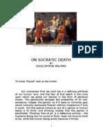 On Socratic Death by David Arthur Walters