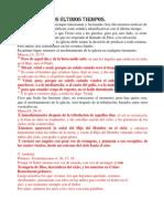 1- EVENTOS DE LOS ULTIMOS TIEMPOS 1º parte
