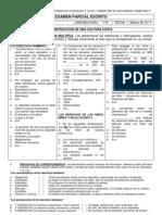 Examen Parcial Escrito 1bbim IV