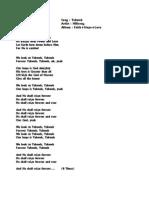 Yahweh - Hillsong - Lyrics - Ajayxlnc