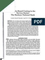 Buckeye Bank Case
