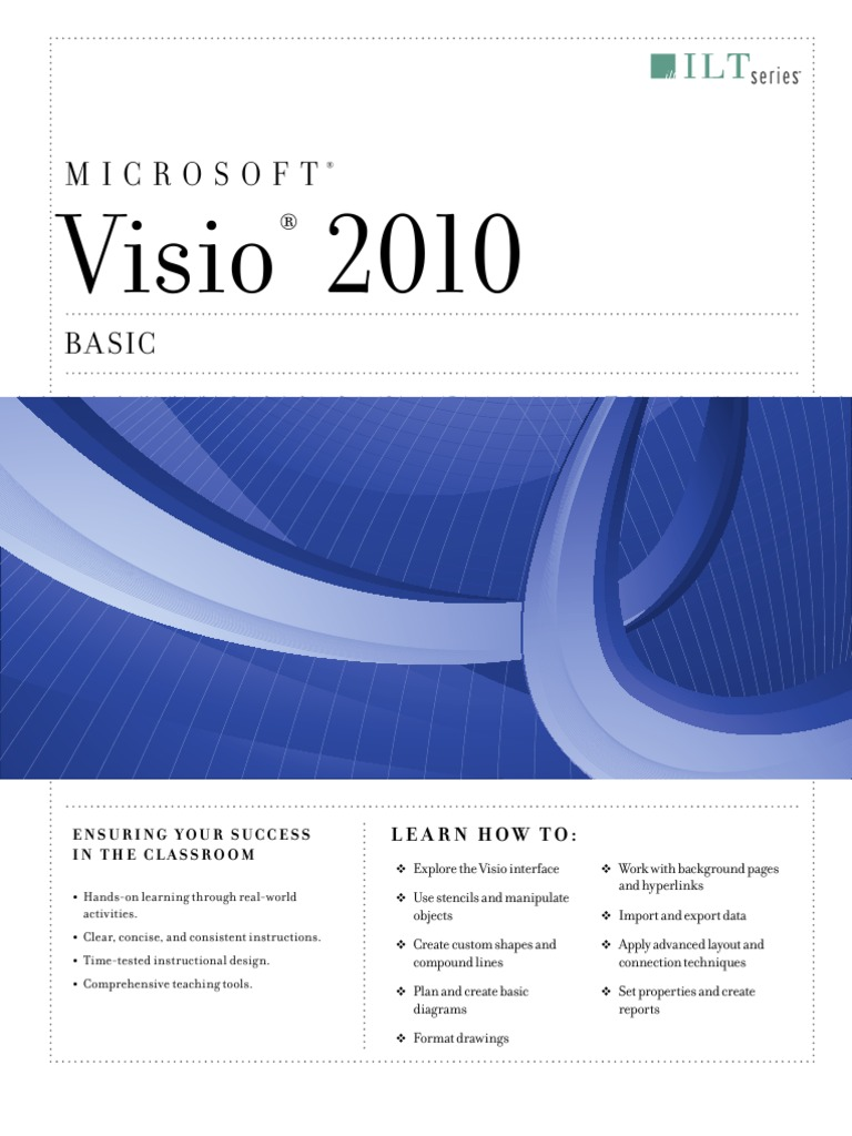 Visio 2010 Basic Student Manual   Tab (Gui)   Graphical User