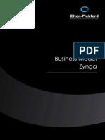 Etude Business Model Zynga