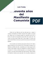 Trotsky. A 90 años del Manifiesto Comunista.