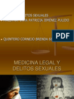 Medicina Legal & Delitos Sexuales