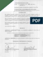 Resolución académica _115_2011