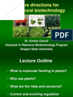 Future Direction Molecular Farming