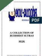 Buddhist Sutra HIJK