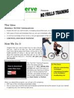 No Frills Training for February
