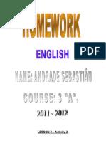 LESSON 3 Y 4