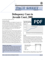 Delinquency Cases in Juvenile Court - 2008