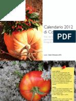 Calendario 2012 di Coltivare l'Orto