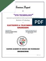 DTH Tech. Seminar Report by Rakesh