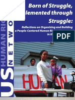 USHRN/APSA Organizing Manual