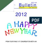 January 2012 Bulletin