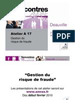 A17 Risque de Fraude