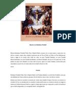 Rosario a La Beatísima Trinidad