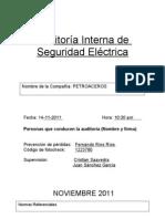 Auditoria Seguridad Electrica