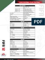 FIFA12 Fan Manual PS3 v1.0