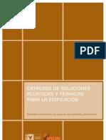 C7Catalogo de Soluciones Acusticas y Termicas Para La Edificacion