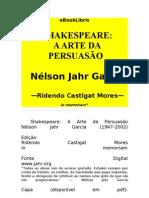PERSUASÃO - Shakespeare - A Arte da Persuasão