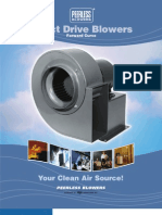 Peerless Blowers Direct Drive Blowers Forward Curve