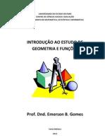 INTRODUÇÃO AO ESTUDO DE GEOMETRIA E FUNÇÕES