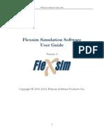 Flexsim 5.0 Manual
