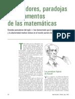 Chaitin, Gregory - Or Den Adores, Paradojas y Fundamentos de Las Matemáticas