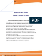 Instituto Galileo Galilei- texto en español -